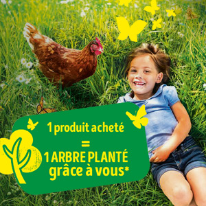 Les Fermiers de Loué - 1 produit acheté 1 arbre planté