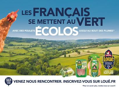 Les français se mettent au vert - Les poulets écolos